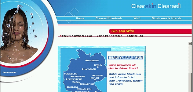 "CLEARASIL ""Beauty Summer Fun"""
