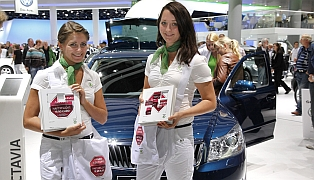 "SKODA BANK - ""Simply Clever""- Promotion IAA"