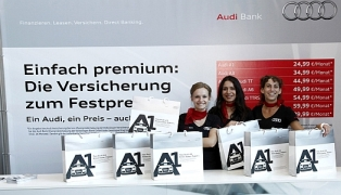 VW BANK Taschensampling-Promotion IAA & AMI