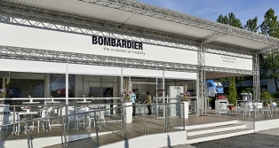 BOMBARDIER Messekonzept - transport logistic