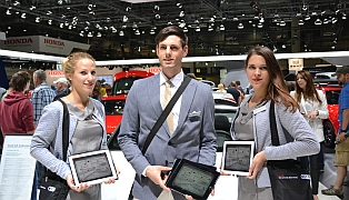 AUDI FS Messe-Promotion mit Quiz-Labyrinth