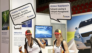 ATHLON Car Lease Inliner-Messe-Promotion