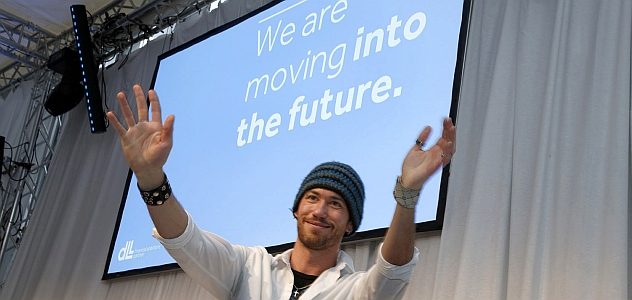 """We are moving into the future"" - Grand Opening Event für DLL"