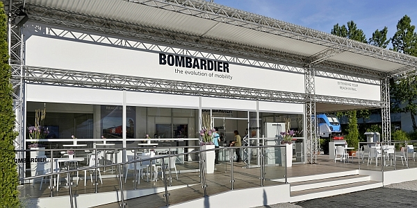 BOMBARDIER Messekonzept - transport logistic M�nchen